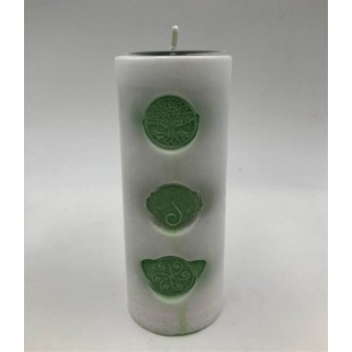 Individual candle, so that you can see in detail how it is